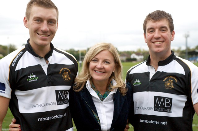 Monica Bradley Associates signs for second year as Headline Sponsor of S&ERFC