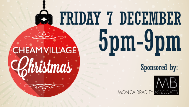 Monica Bradley Associates to sponsor Cheam Village Christmas Fair