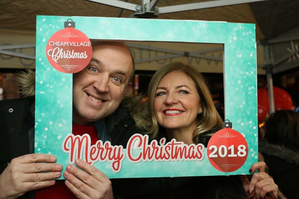 Festive Fun at Cheam Christmas Fair 2018